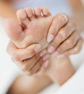 Foot muscle pain