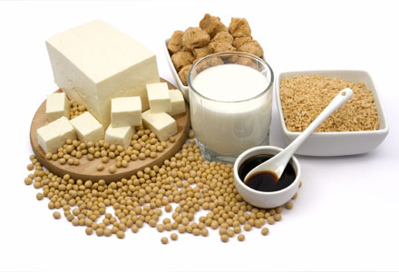 Healthy Foods for Women - Soy protein
