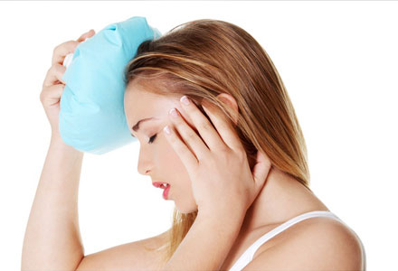 Migraine Headaches Natural Cures - Hot or Cold Compress