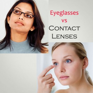 eyeglasses vs contact lenses which one is best for you