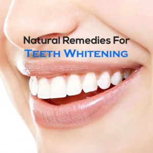 Natural Remedy For Teeth Whitening