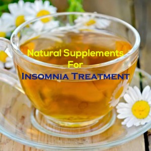 Natural Supplements For Insomnia