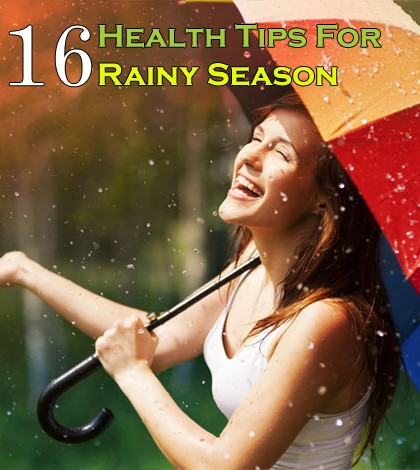 Health Tips For Rainy Season