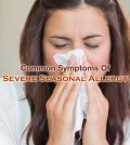 Severe Seasonal Allergy Symptoms