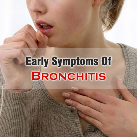 what are the symptoms of bronchitis in a child