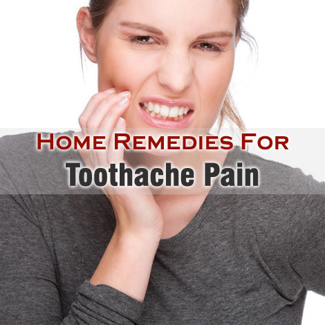 toothache remedies home
