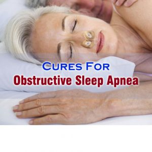 Obstructive Sleep Apnea Cure